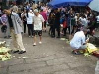 【社会民生】板桥菜市占道经营,超出规划线外,整顿不彻底……