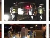 """【减量控大】酒泉瓜州公安交警:严查酒驾不放松两日内十名""""醉汉""""被刑拘"""
