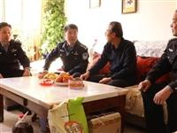 酒泉瓜州县公安局开展重阳节前夕走访慰问离退休老干部活动