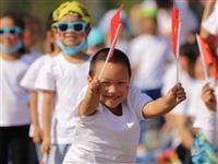 都挂彩啦!峡江这家幼儿园的亲子活动,玩的太新颖!