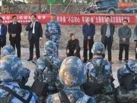 海军潜艇学院到坦埠镇接受红色革命教育