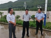 市人大常委会副主任丁善余到坦埠镇督导检查台风防御工作