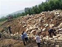 岱崮镇积极开展灾后水毁道路修复工作