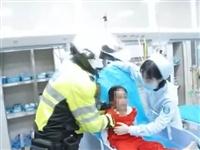 暖心!自贡女孩头部受伤,交警叔叔护送开道!仅6分钟达到...