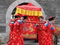 金寨传统婚礼丨抬花轿接新娘!热闹的很,媒婆是亮点!