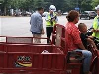 严惩!(罚款+扣车+拘留)合阳集中整治摩托车、三轮电动车交通违法行为!