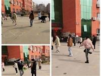 无极县东中铺学校2021年春季开学防疫演练