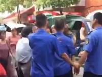 萍乡一商户拿刀阻碍城管执法,结果....