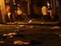 凌晨三点,建平街头发生的一幕...