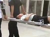 建平人民公园一学生不慎从二楼高度跌下,身体多处受伤...