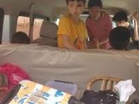 一辆开往慈溪的小面包车上装着8个孩子,罚款200元扣6分...