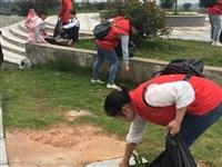 【志愿者在行动】五月,用环保的方式致敬烈士!