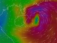 """预警升级!高铁停运!台风""""韦帕""""今夜登陆或擦过海南!海南谨防特大暴雨!"""