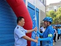 萍乡:外卖小哥当义警巡城护平安