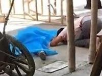 潮汕某地在建楼房一铁斗车从天而降,女子被砸中当场身亡