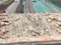 """江苏一轿车从""""断头高架""""上坠落致3死1伤,交警认定为路外事故"""