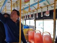市住建局督查城市公交安全工作