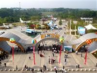 湖北首个航空主题公园在荆门漳河新区盛大开园三万余游客入园体验
