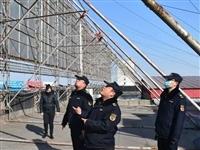 青州城管大动作,主要针对户外广告设施隐患排查