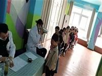 安庆市政府机关幼儿园碧桂园分园组织幼儿进行健康体检