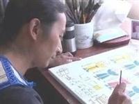 彝乡榜样|创作民间绘画的市级劳模金牛
