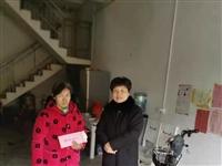 埇桥区人大常委会副主任陈瑞培到大营镇耿湾村看望慰问困难群众