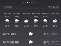 就在今晚,泸州的雷雨+大风已经安排上了!