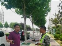 【检查】宿州供水公司总经理邵伟一行调研淮河东路过铁路供水管道施工