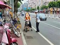 安全骑行!仁寿交警将持续整治共享电单车这些行为!