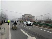 今天,宿州一县区发生交通事故,三轮车驾驶员当场身亡