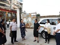 河南省法学会破产法学研究会到信阳调研企业破产项目