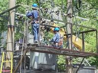 安庆供电:迎高温 战酷暑 提供充足电力保障