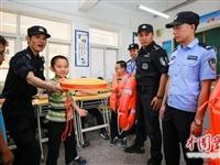 安庆:防溺水宣传进校园