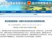安庆怀宁通报一起群众身边的违纪违规典型问题