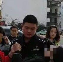 """蓬溪一民警上班途中发生的一幕被""""曝光""""后感动无数人!"""
