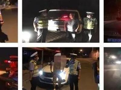 """【本地】瓜州公安交警严查酒驾不放松两日内十名""""醉汉""""被刑拘"""