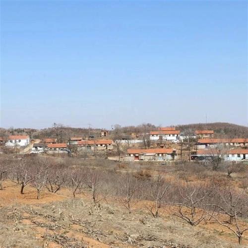 看图:莱阳一个几十户规模的小山村,在沐浴店镇境内