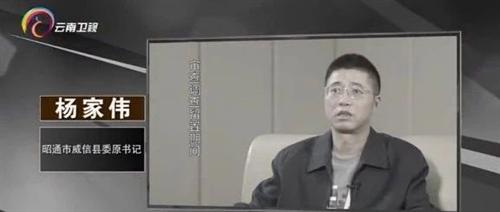 视频 激浊扬清在云南,威信县委原书记杨家伟的忏悔录!