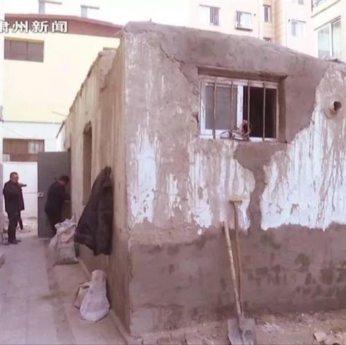 肃州区城市管理综合执法局依法拆除一处违建?