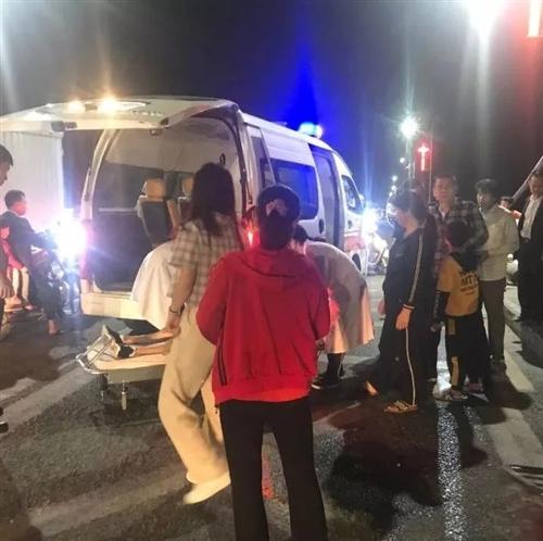 爆料两则|揭西县城发生一起交通事故,两女子躺在路上