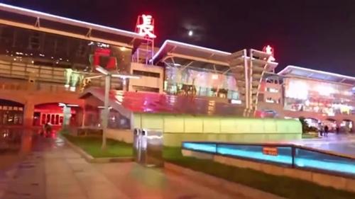 航拍-吉林省省会、副省级城市长春,鸟瞰长春北站延时夜景!