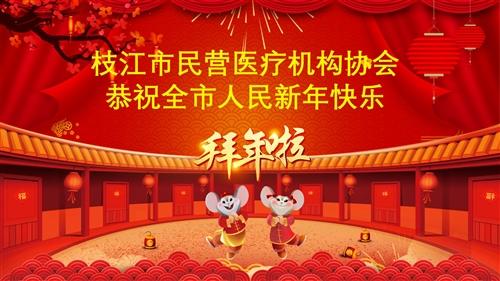 枝江市民营医疗协会2020新春大拜年