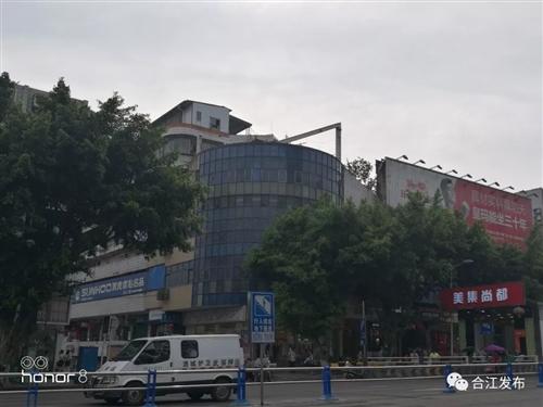 合江这个地方3块违规大型户外广告被依法拆除