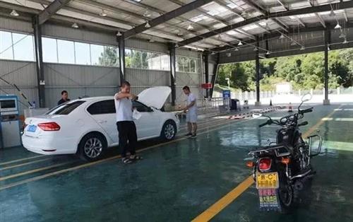合江有了首个乡镇汽车检测中心车主感叹:3小时变30分钟
