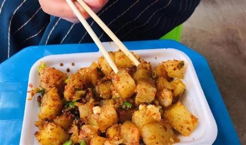 [街头美食]每次经过招商城那个行行(hanghang),都忍不住买一份。