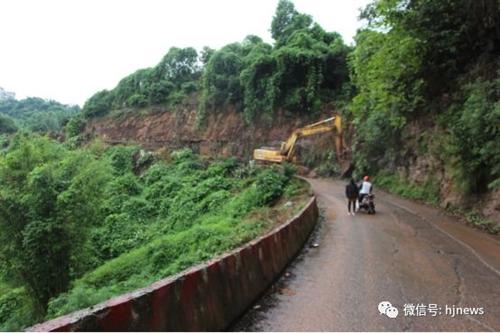 赤水河环线旅游公路(合江段)开工建设