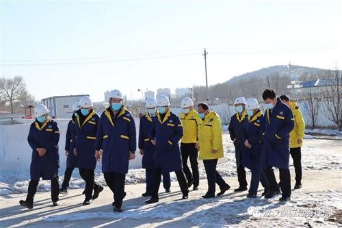 敖汉旗委常委、旗政府副旗长张圣合带队开展春节前安全生产检查