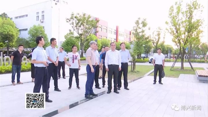 吕明涛带领博兴县考察团赴上海学习考察