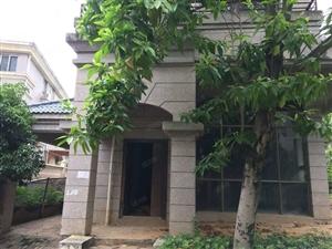 龙岩学院旁边,欧洲世家独栋别墅,50平大车库,花园180平方