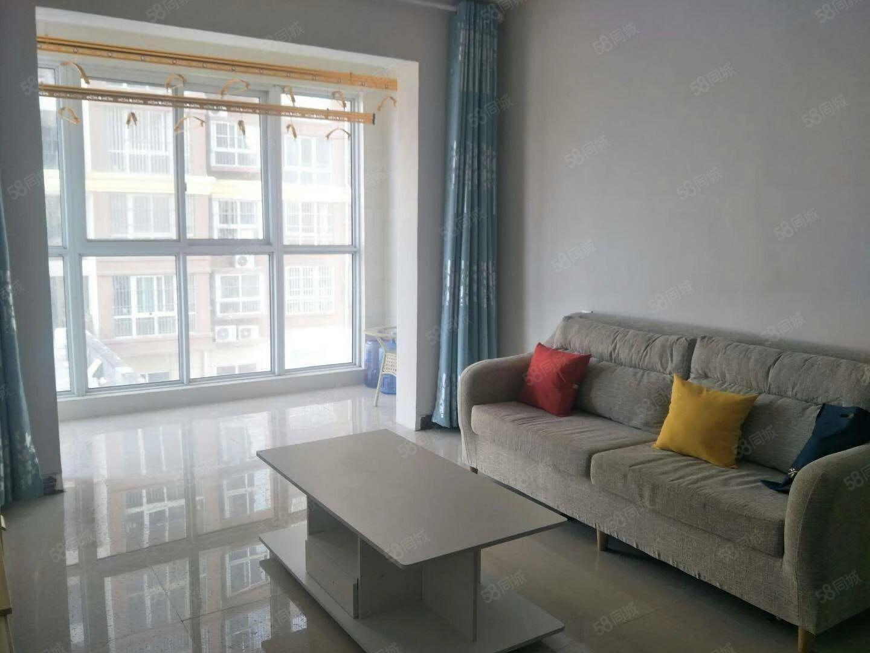 天下城标准一室两厅户型好,精装拎包即住!可租半年!